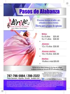 Lerele 5x7 Danza cristiana ALTA-01